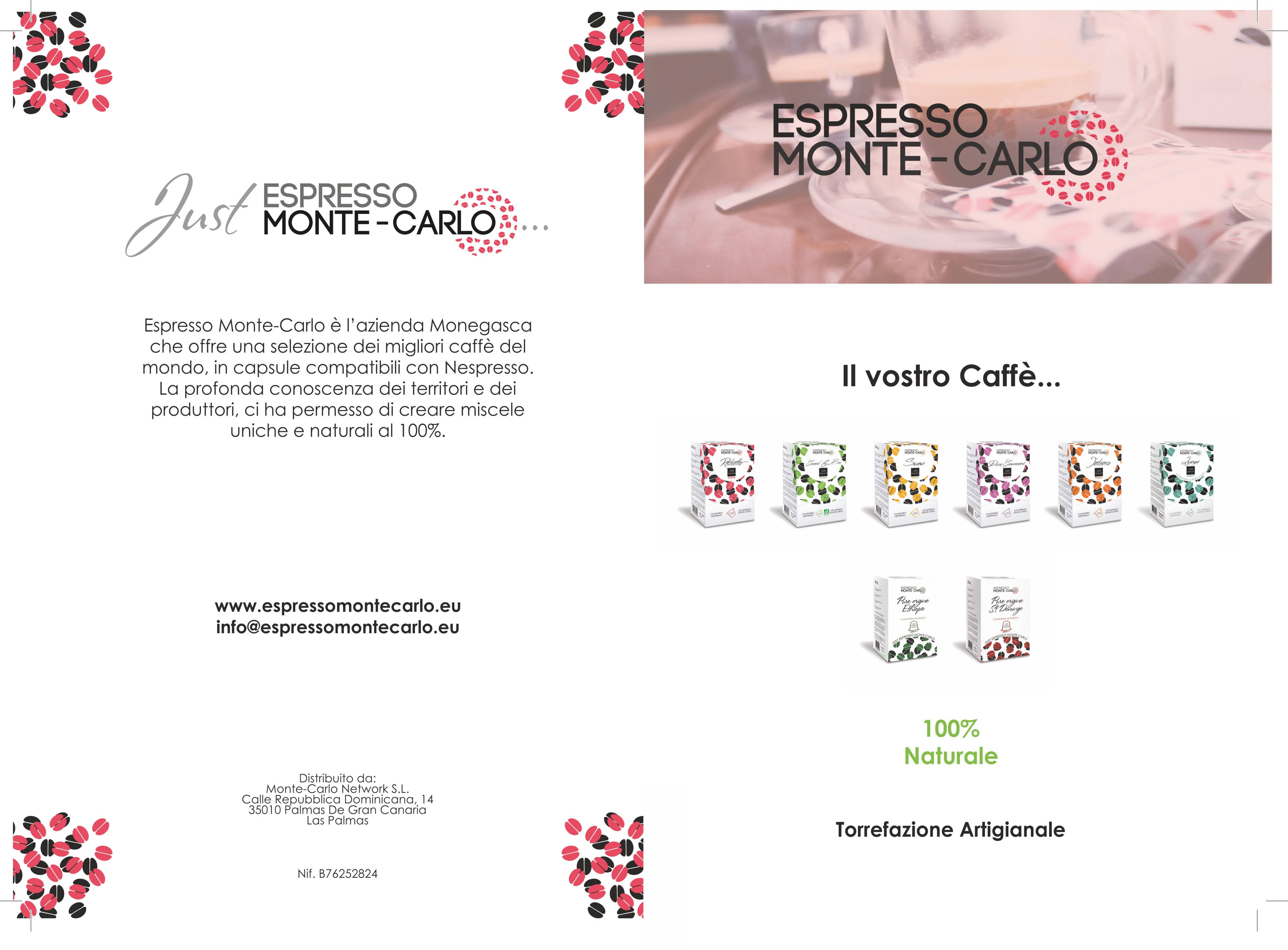 Espresso Monte-Carlo Copertina