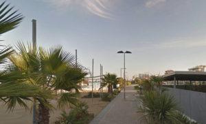 Passeggiata lungomare da hotel Ombretta mare a Paleomeeting